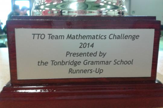 Team College wordt 2e bij Team Mathematics Challenge
