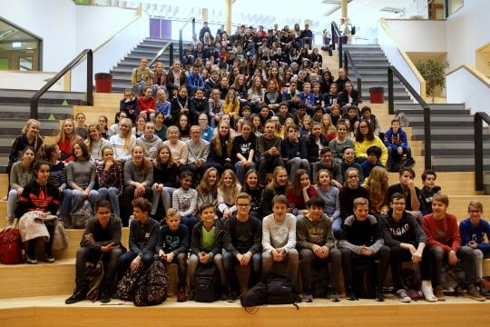 Annual exchange with Gymnasium from Mönchengladbach